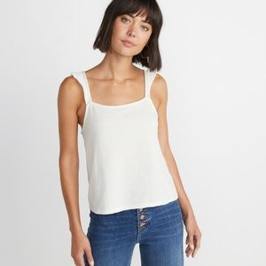 Marine Layer Heidi Tank in Antique White